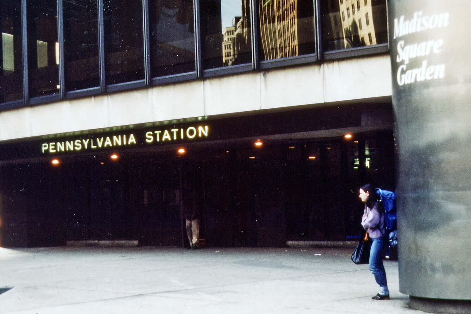 New York Pennsylvania Station 1981