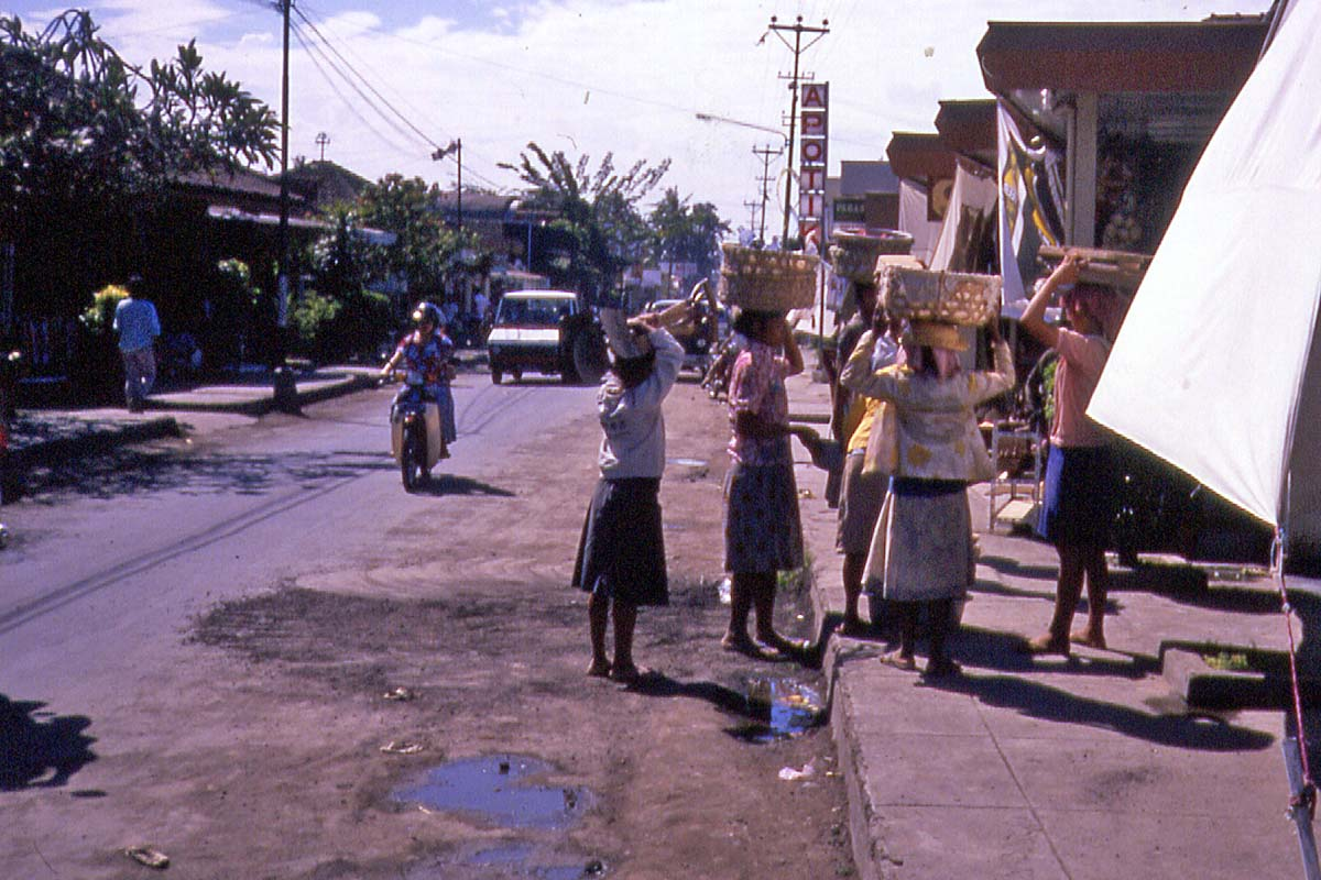 Kutas main street in 1988
