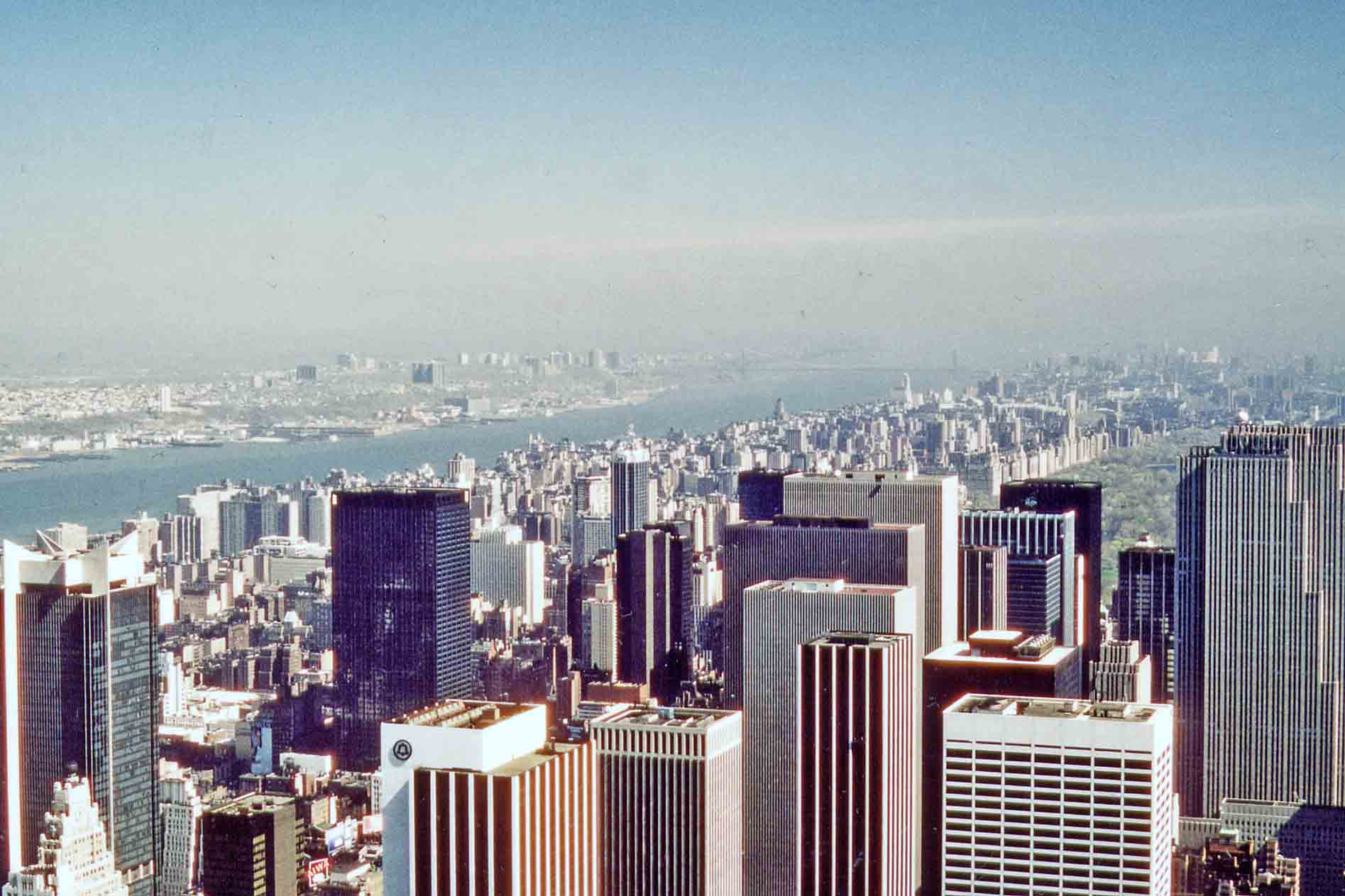 New York - view from the Empire State Building