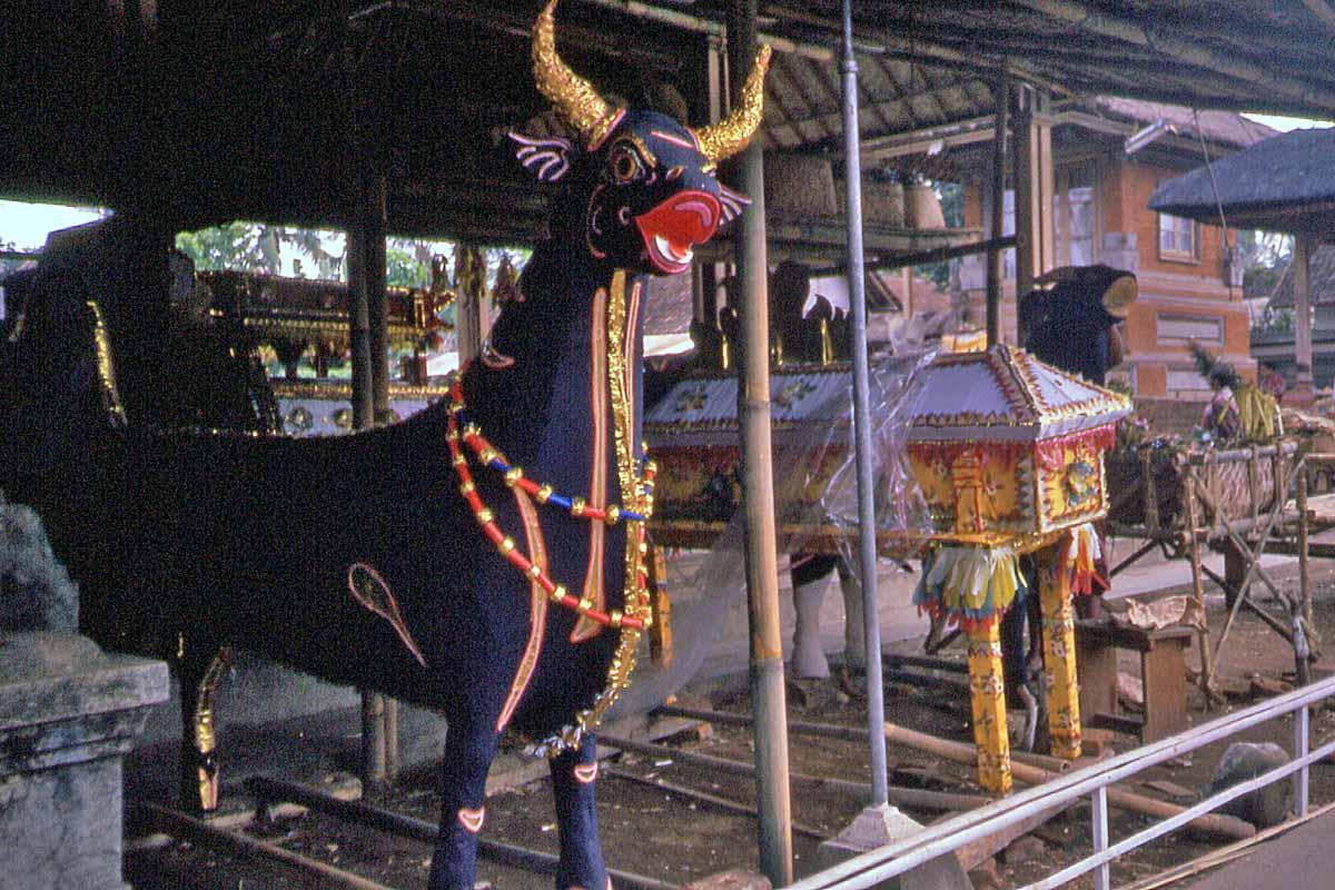 Balinese coffins