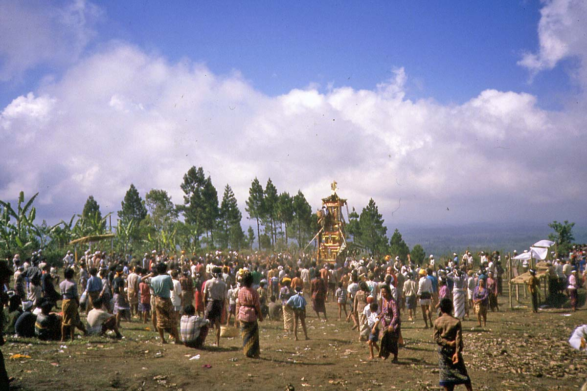 Place of mass cremation in 1988