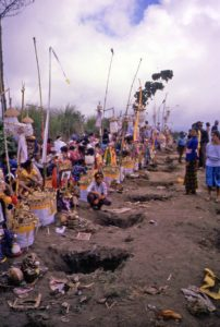 Balinese graves