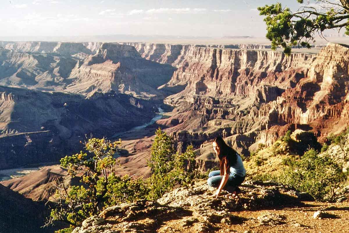 Grand canyon, USA 1981