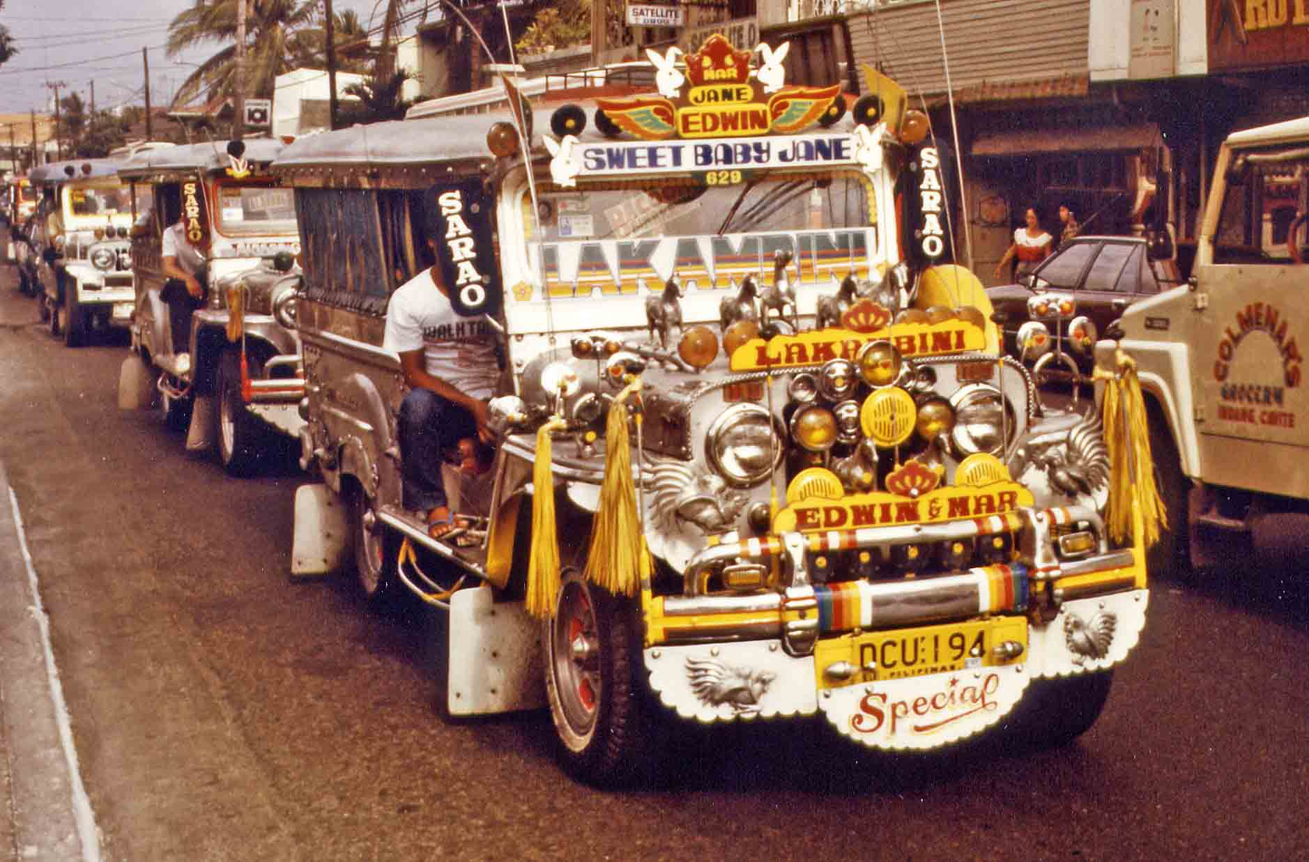 Jeepney in Manila