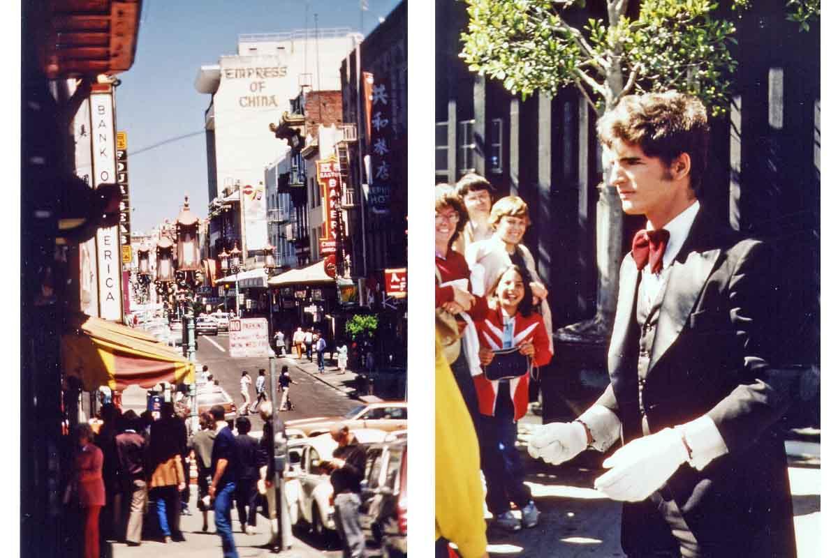 Pantomime in San Francisco 1981