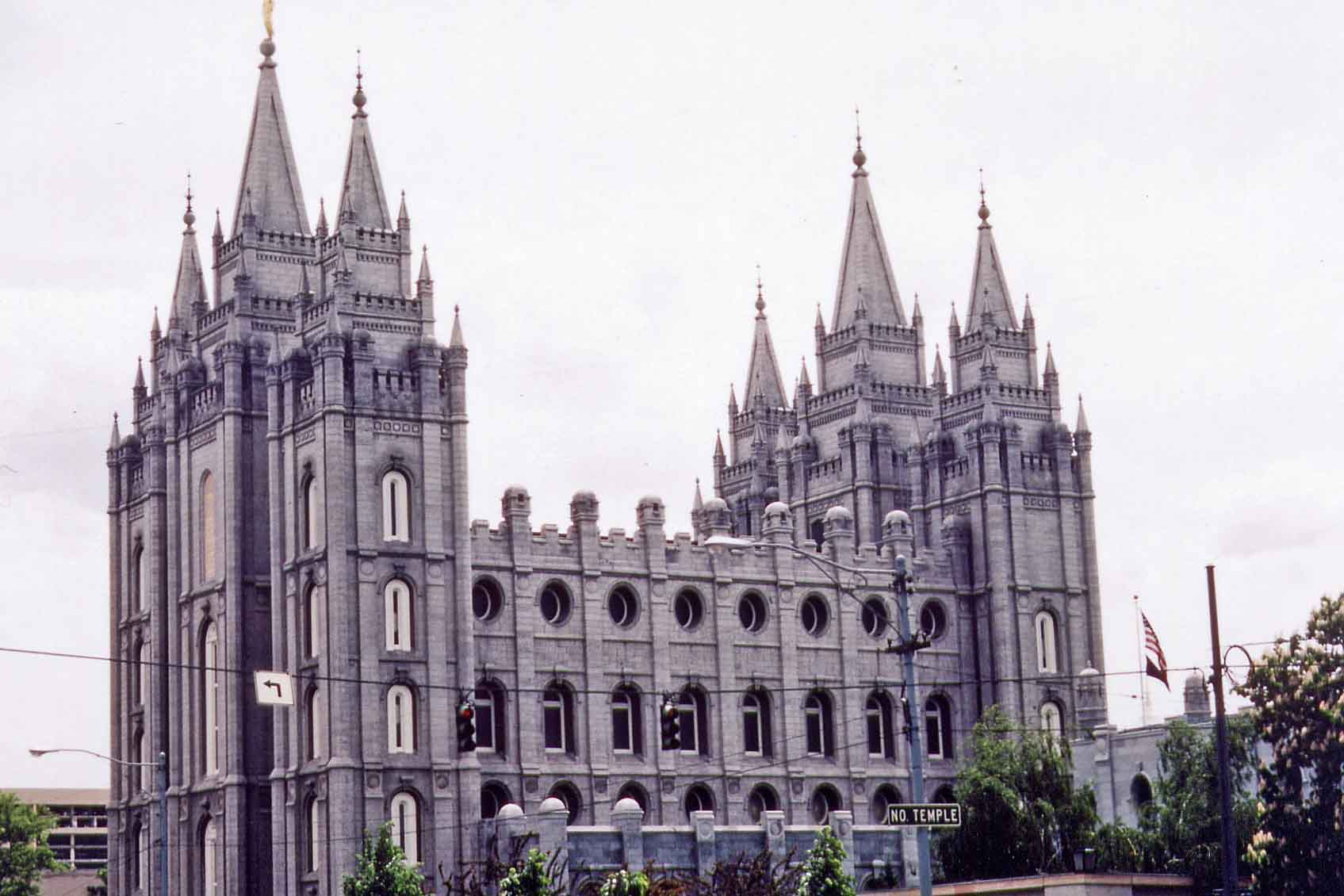 Salt Lake City, Mormon-Tempel