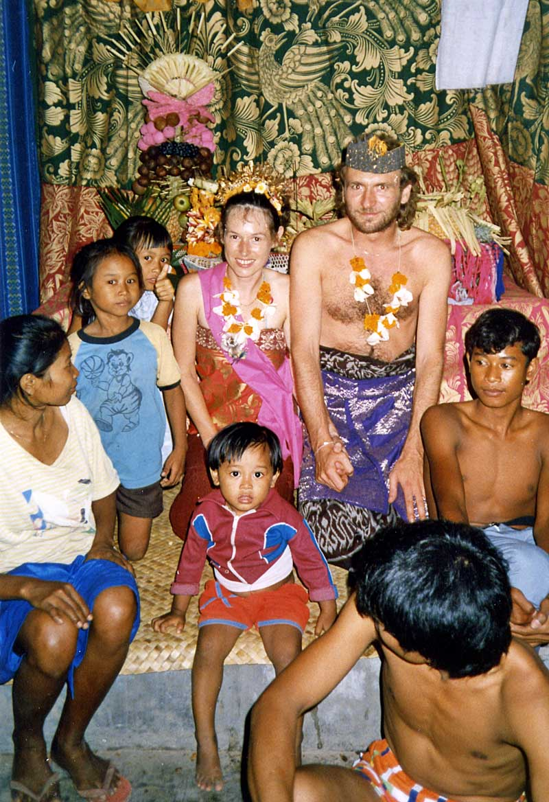 Wedding in Kuta 1988
