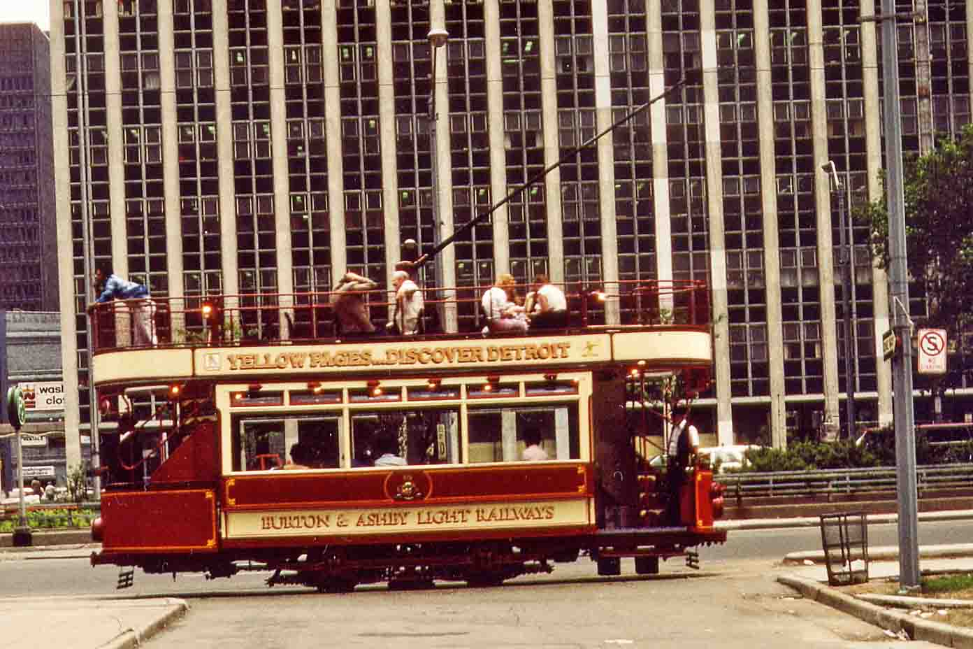 Cable car in Detroit