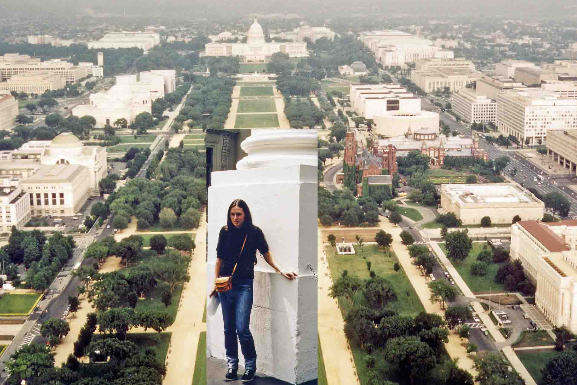 White House in Washington 1981