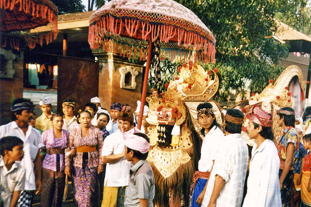 Barong dance on Bali