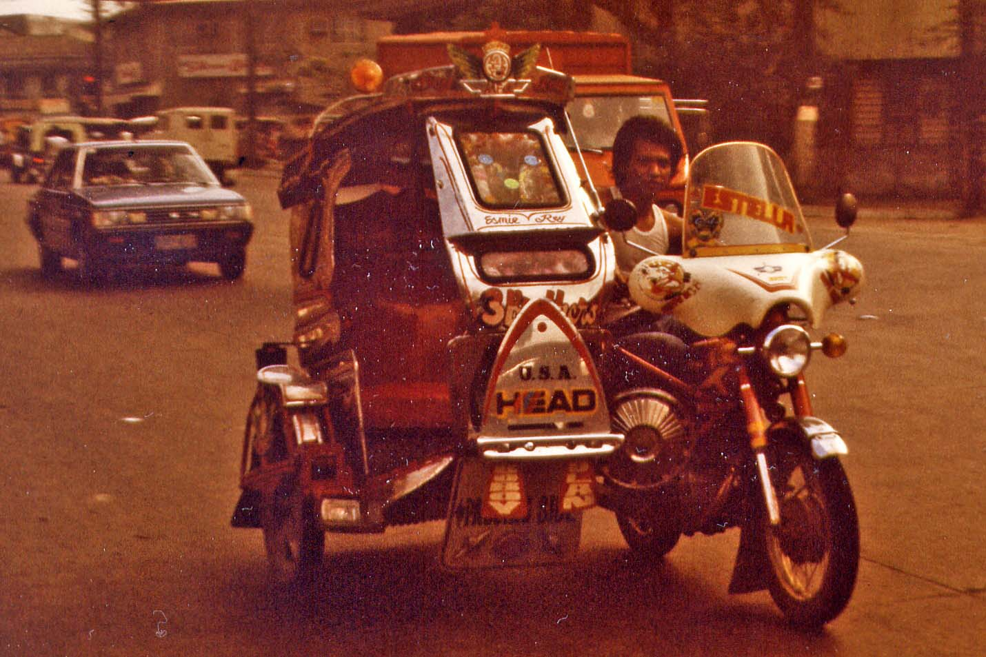 Tricycle in the Philippines 1983