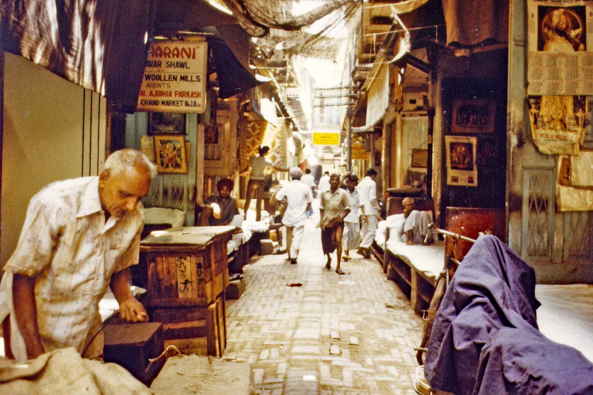 Basar in Amritsar India 1983