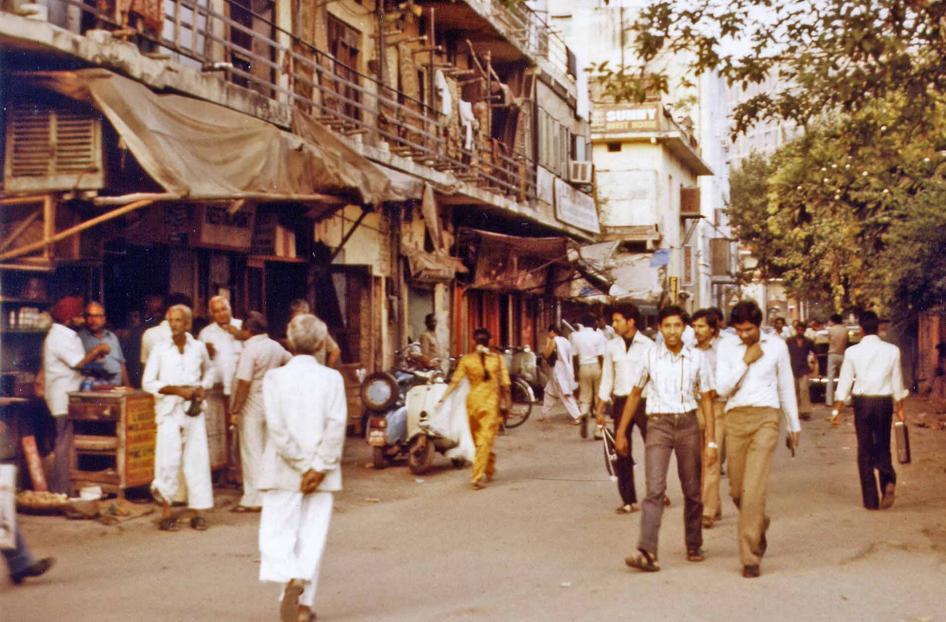 New Delhi Sunny's Guest House 1983