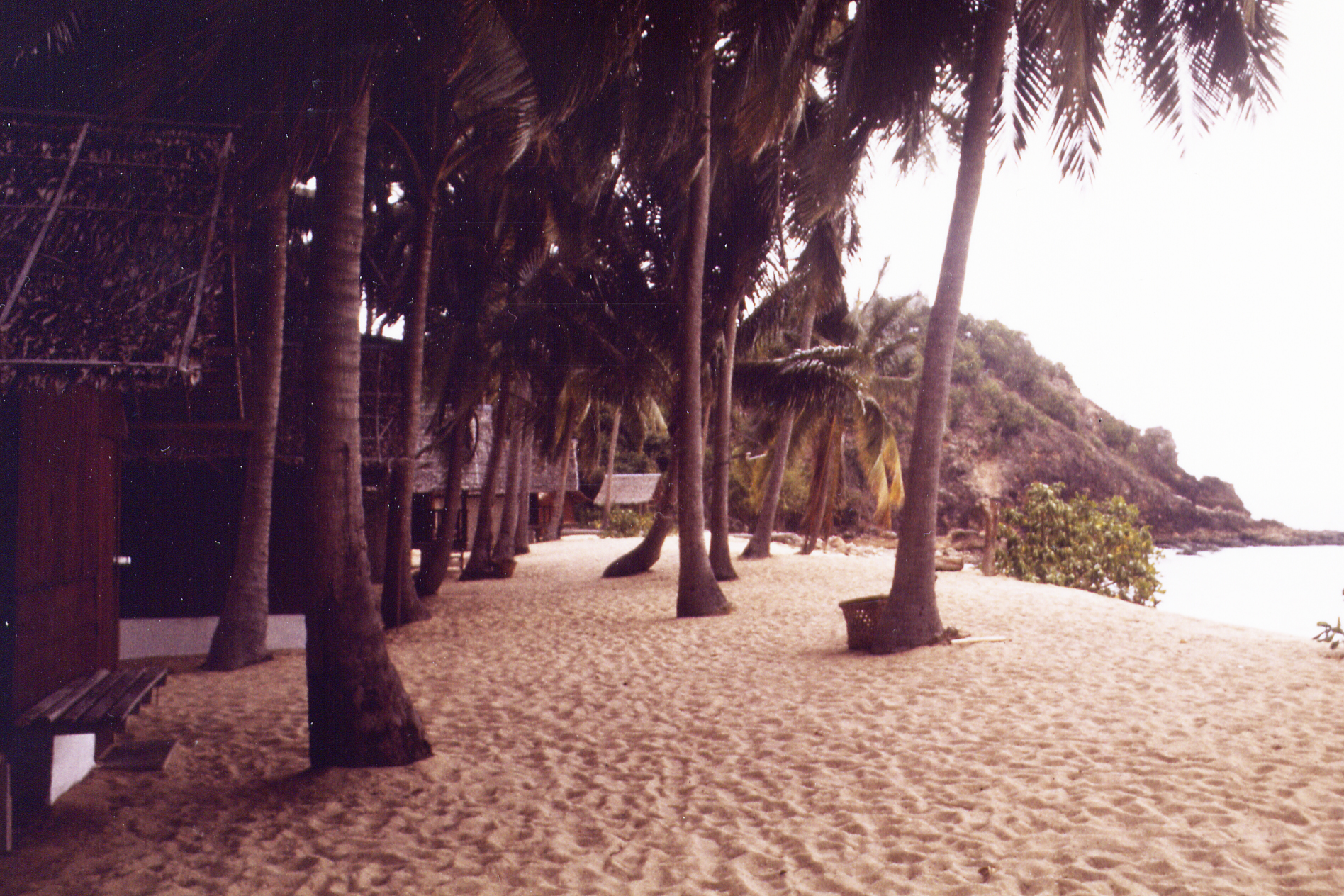 Beach on Koh Samui 1983