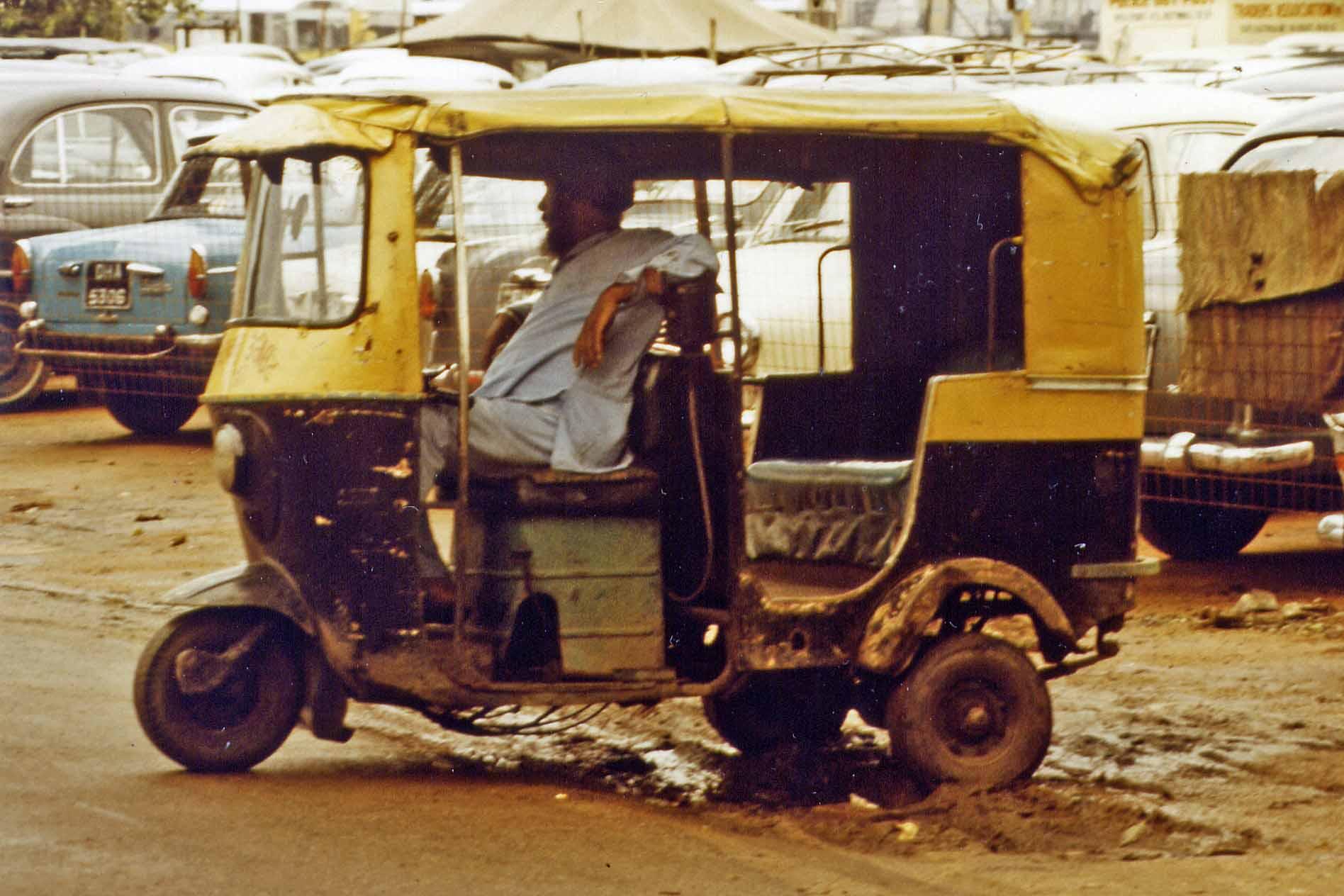 Scooter in New Delhi