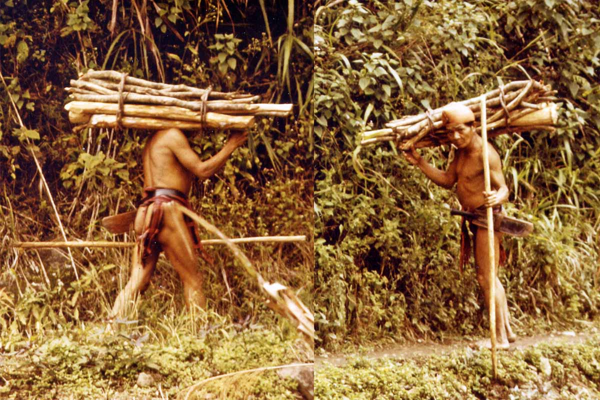 Native near Bontoc 1984