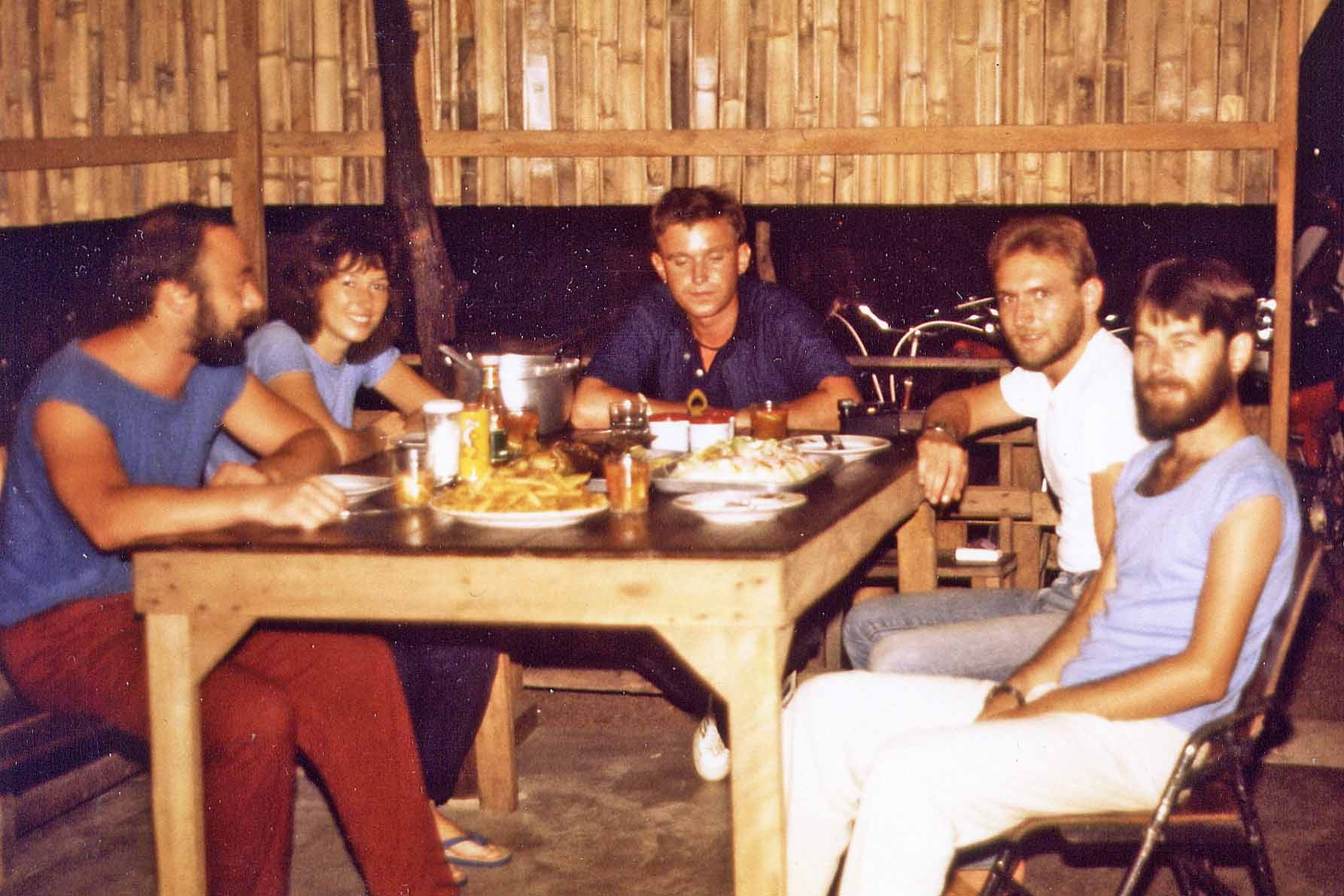 Dinnerparty on Koh Samui