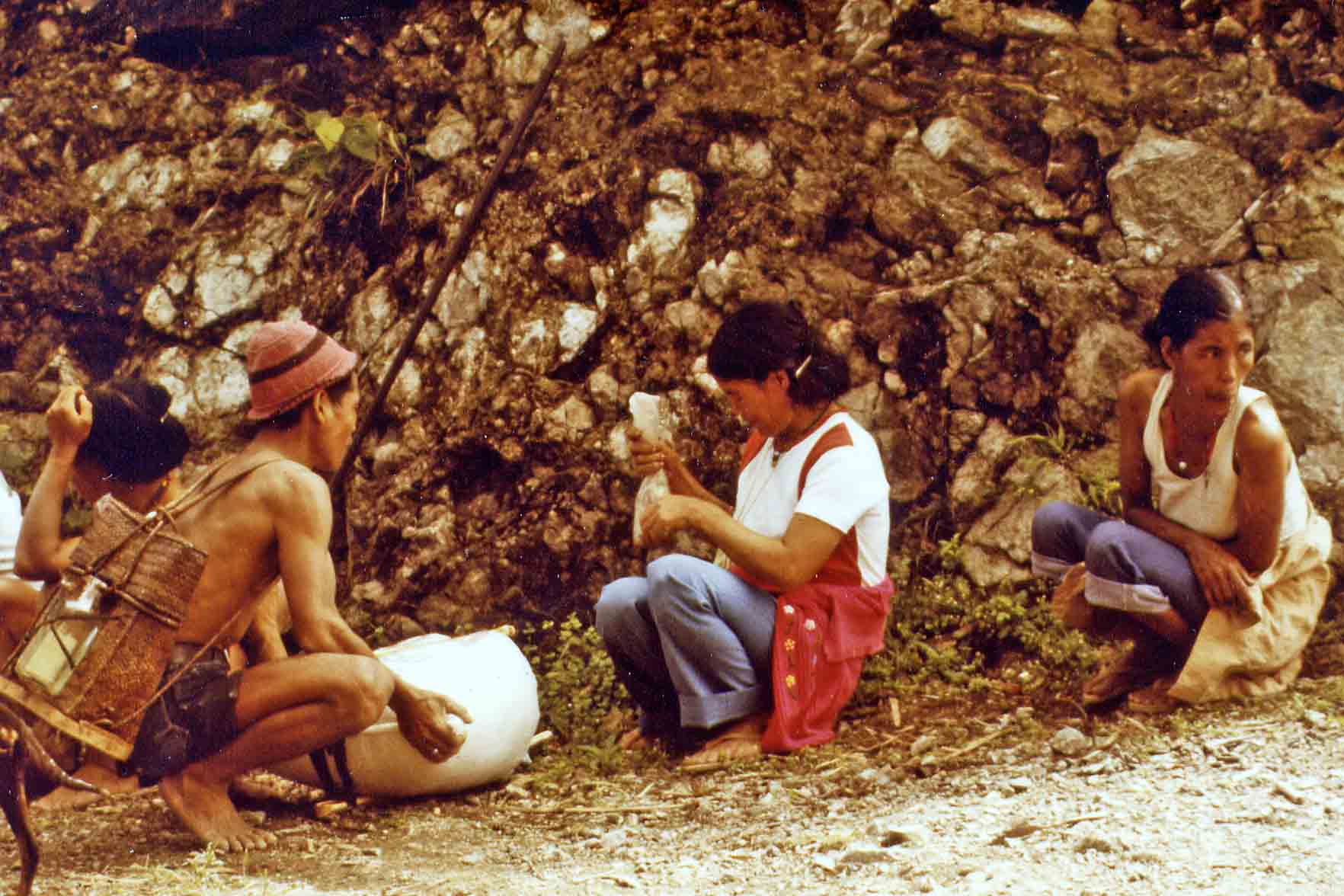 Natives between Bontoc and Banaue