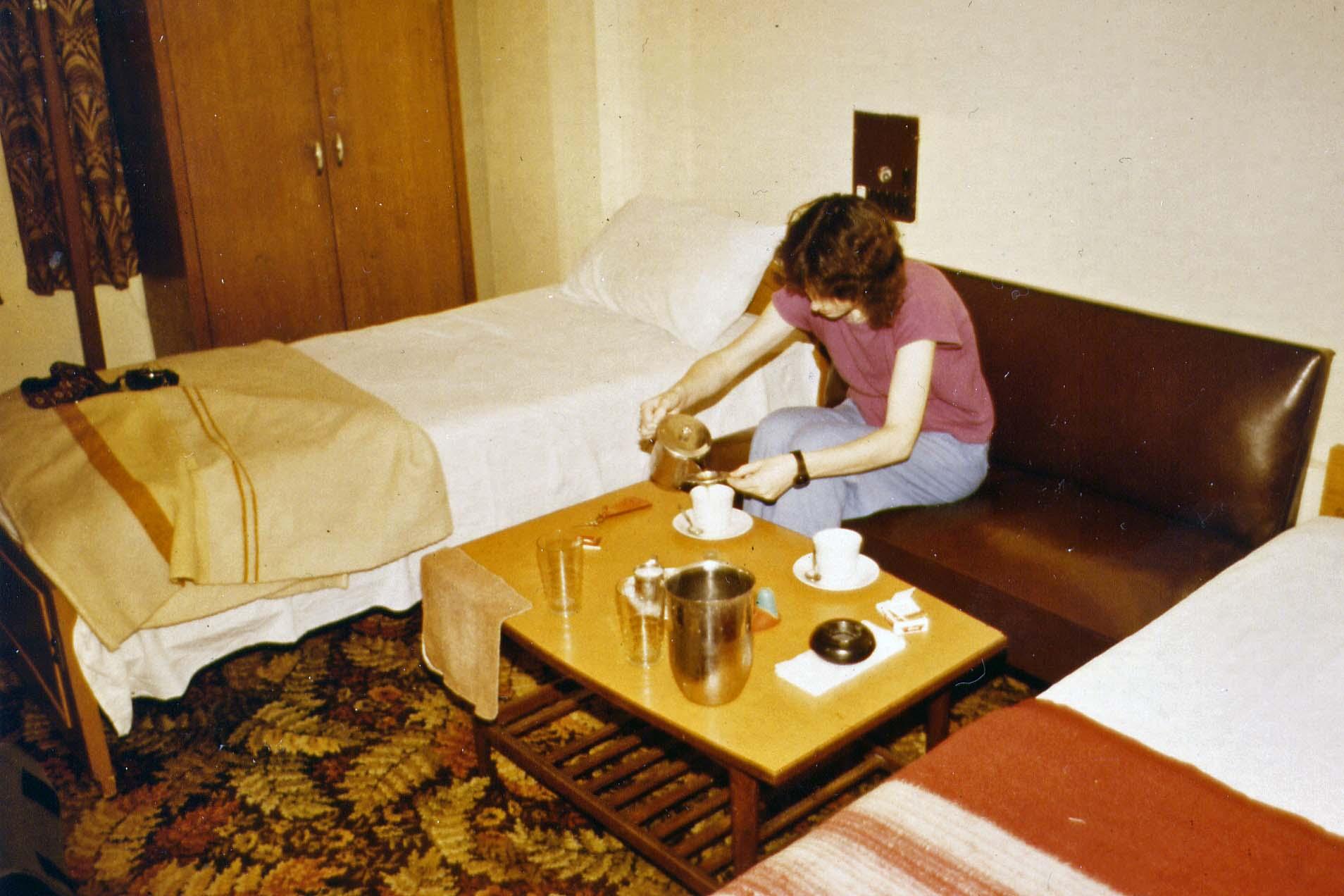 Hotel in Karachi 1983