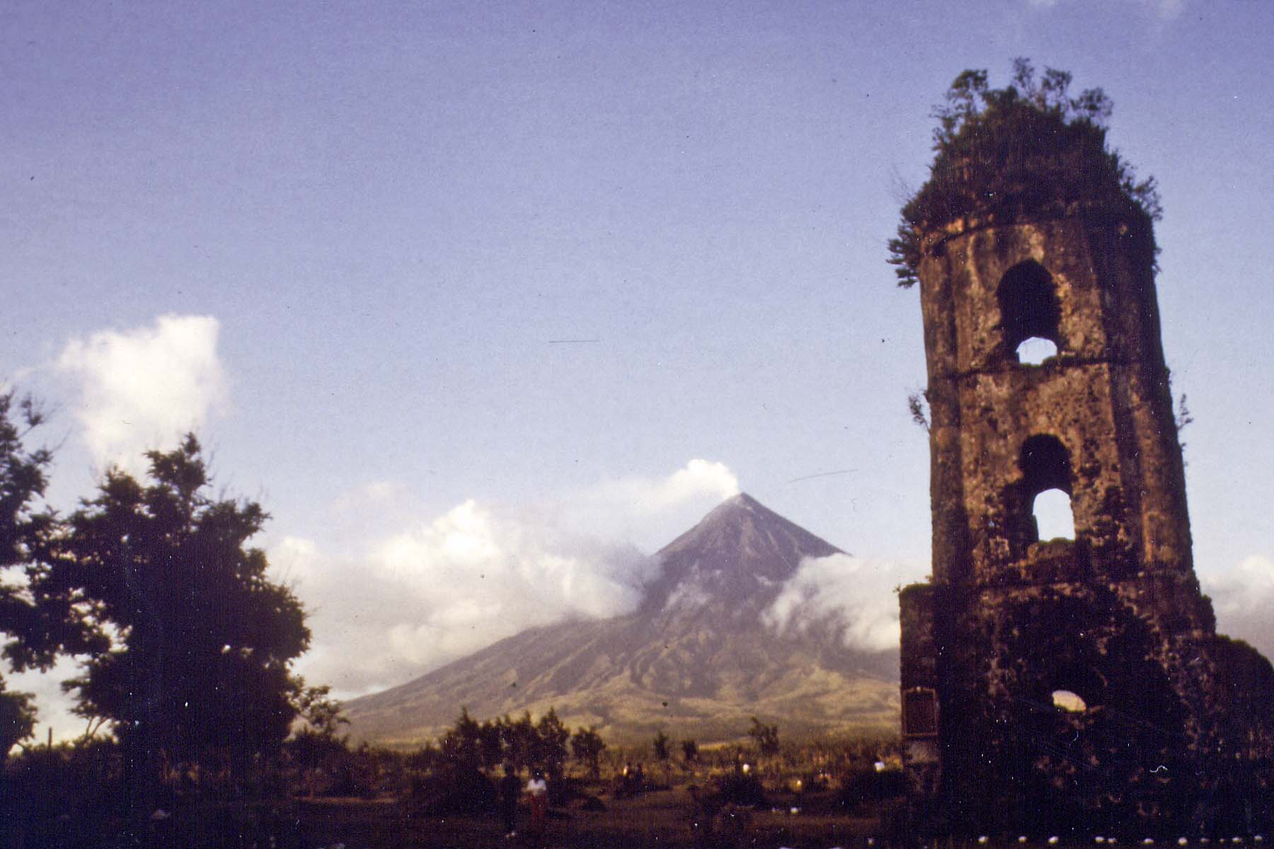 Vulcano Mayon, Philippines