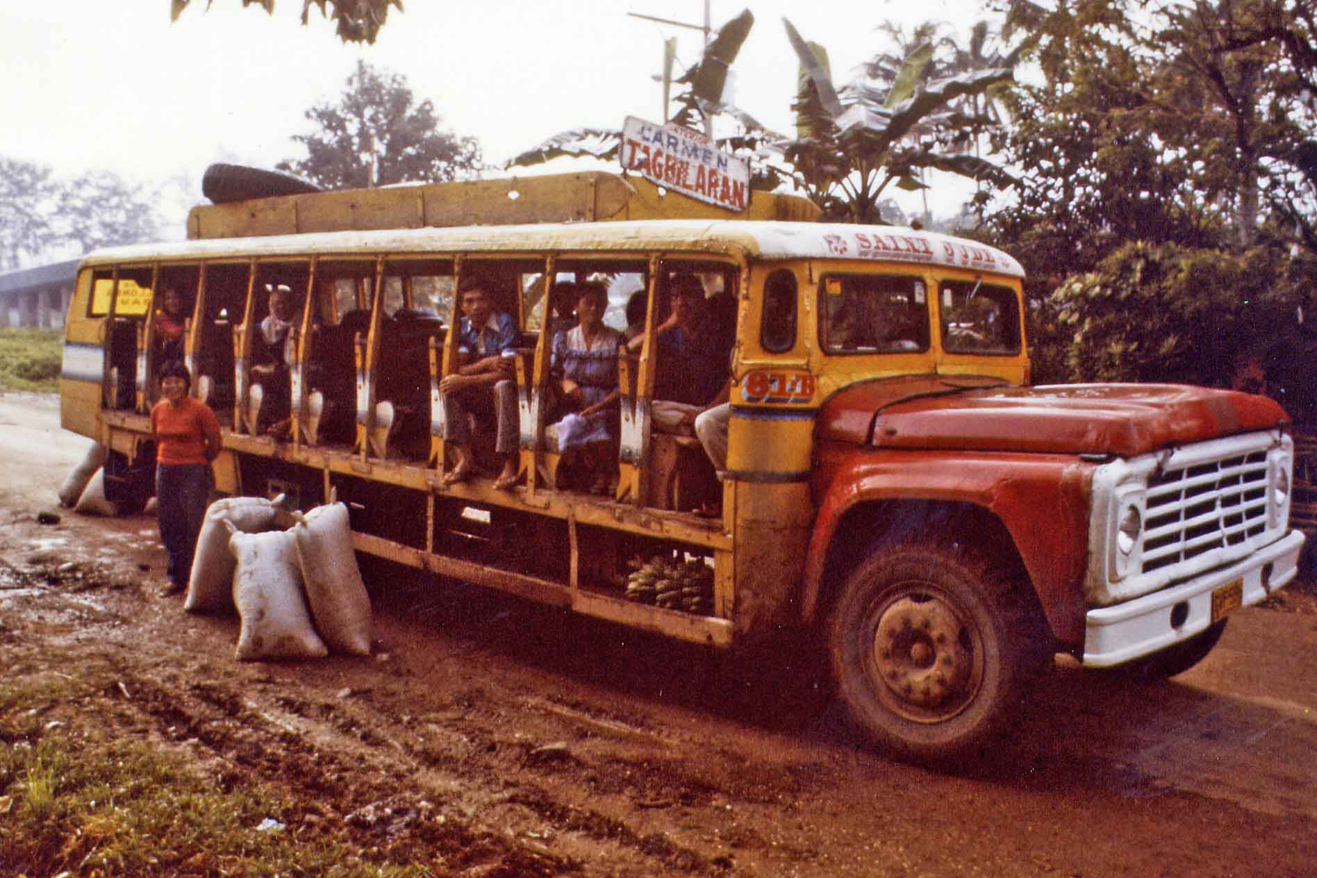 Bus on Bohol, Philippines