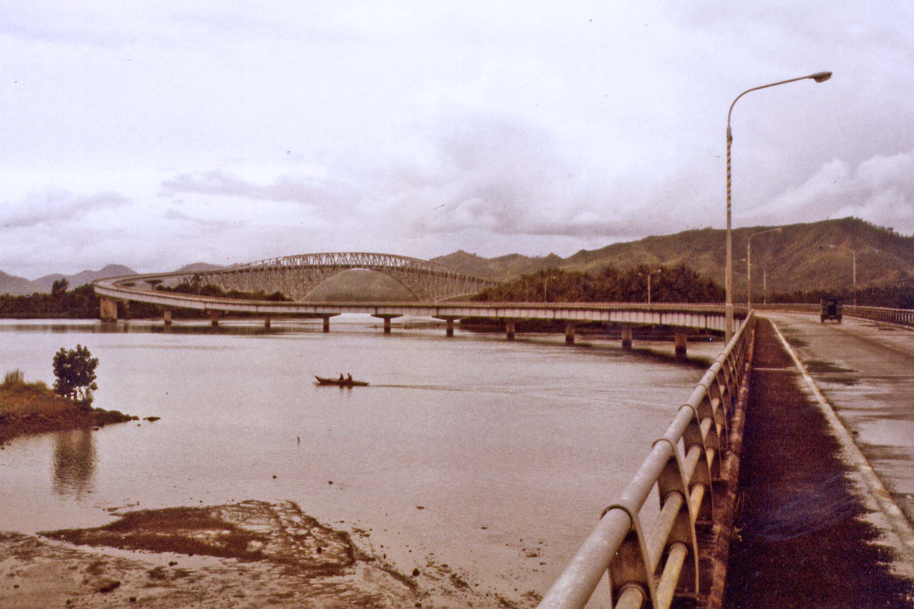 Marcos-Bridge 1984, today San-Juanico-Brücke