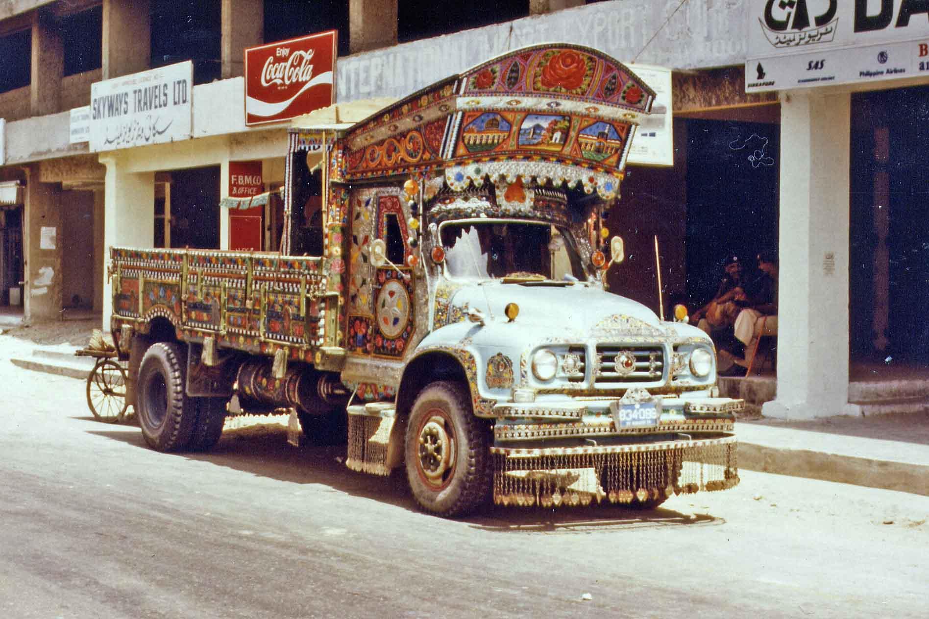 Truck in Karachi, Pakistan