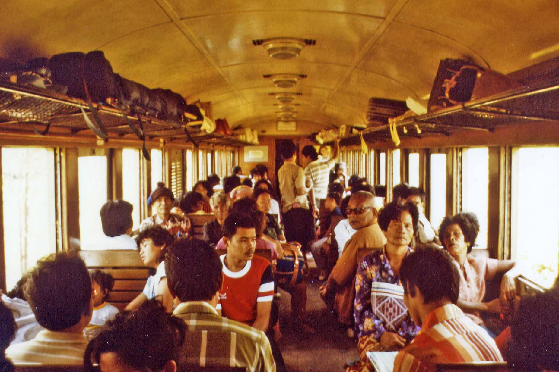Train to Bangkok, third class