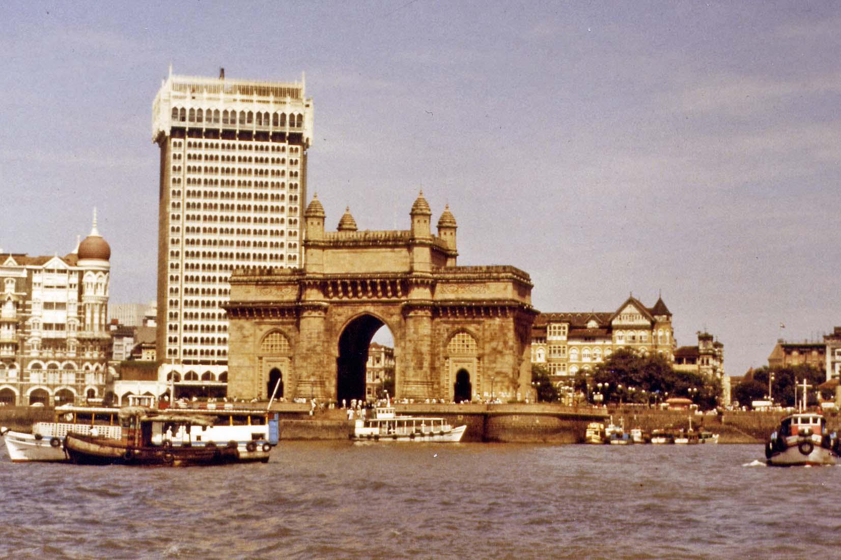 Bombay, India Gate
