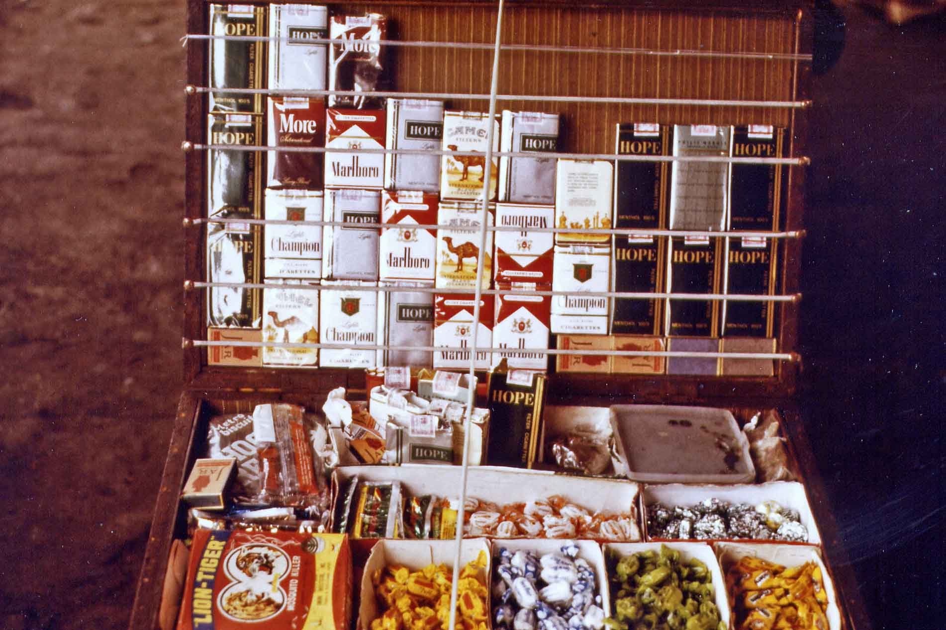 Kiosk with Cigarettes in Manila