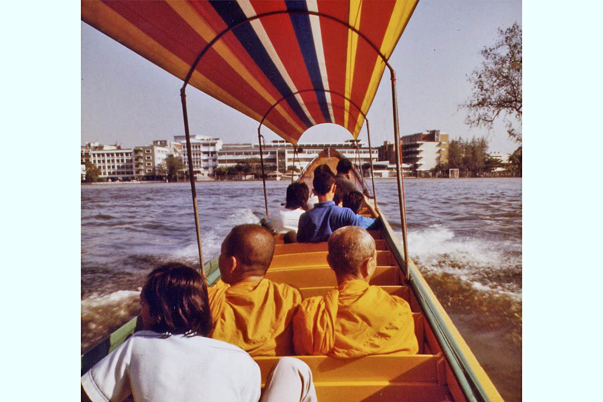 Bangkok public boat