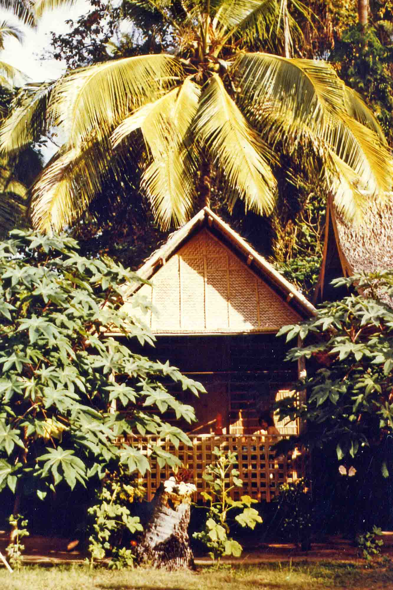 Bunalow on Boracay 1984