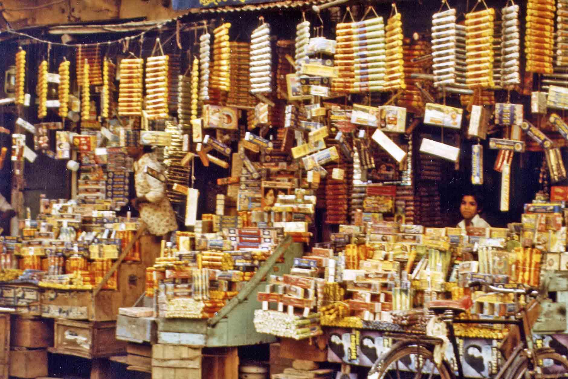 Incense sticks on indian market