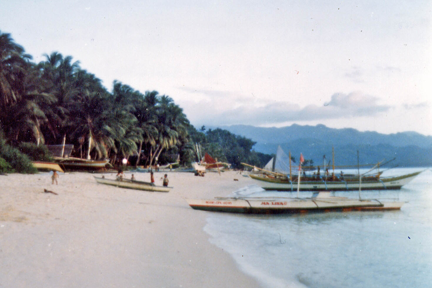 Beach of Boracay 1984