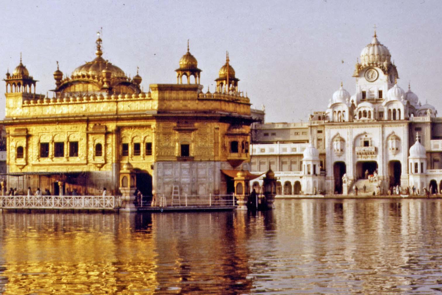 Golden Temple in Amritsar, India 1983