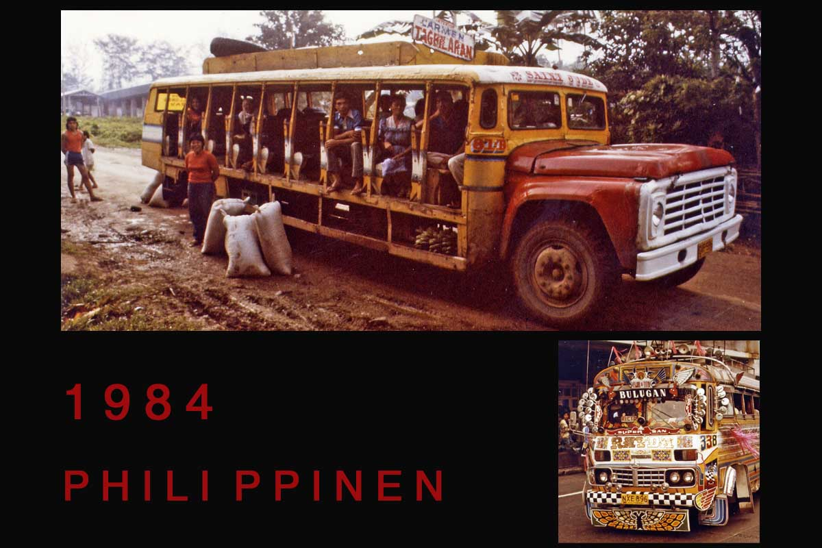 Phillipines travel 1984