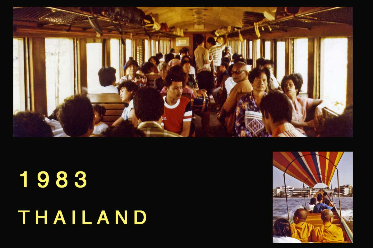 Thailand travel 1983