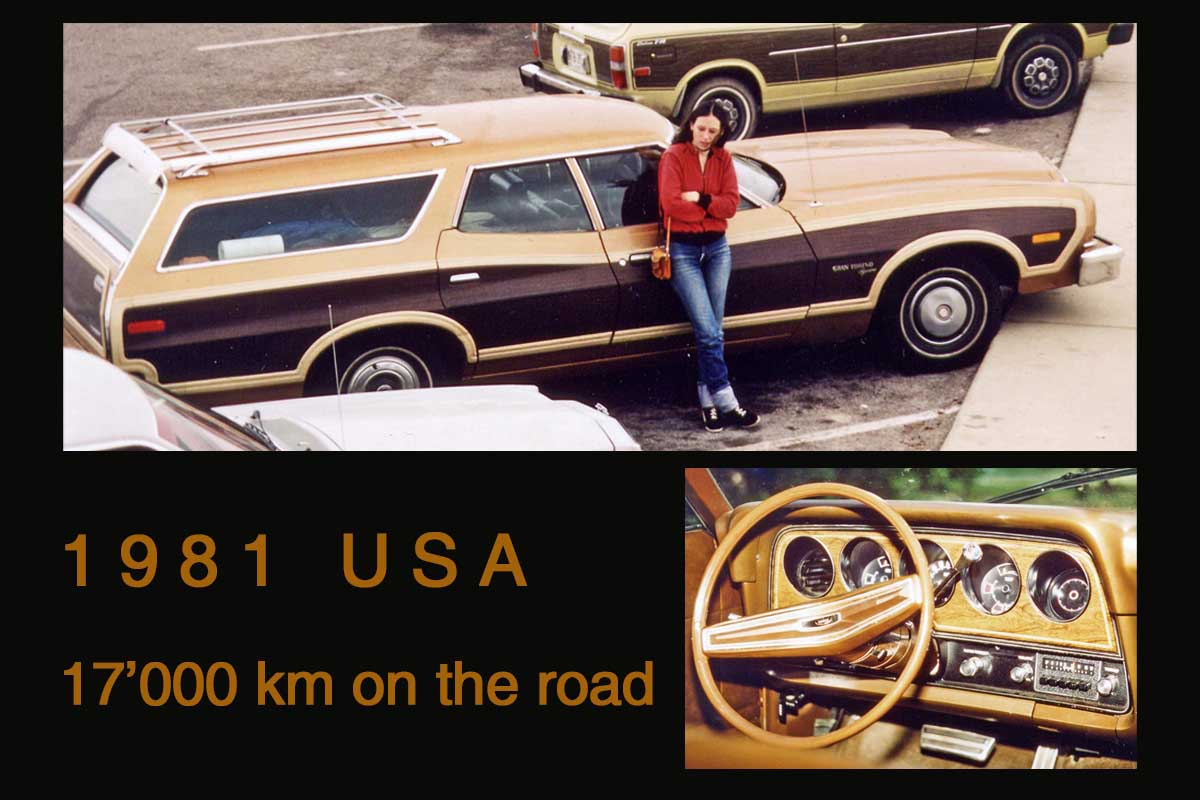 USA Roadtrip 1981