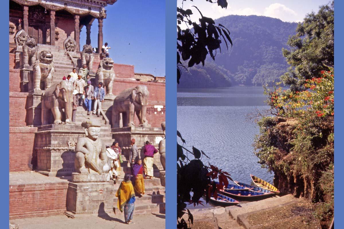 nepal kathmandu und pokhara