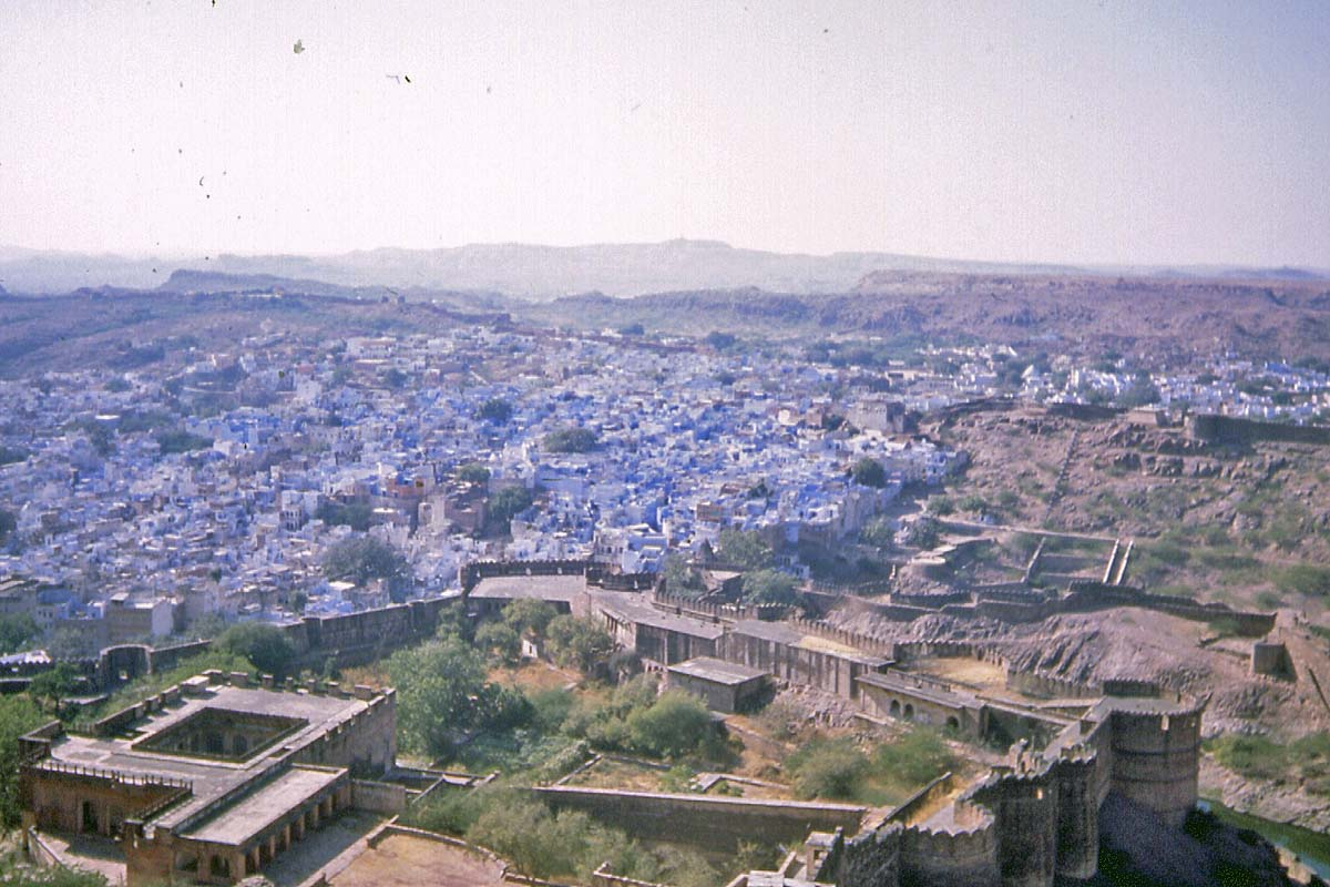 jodhpur blue houses of brahmanes