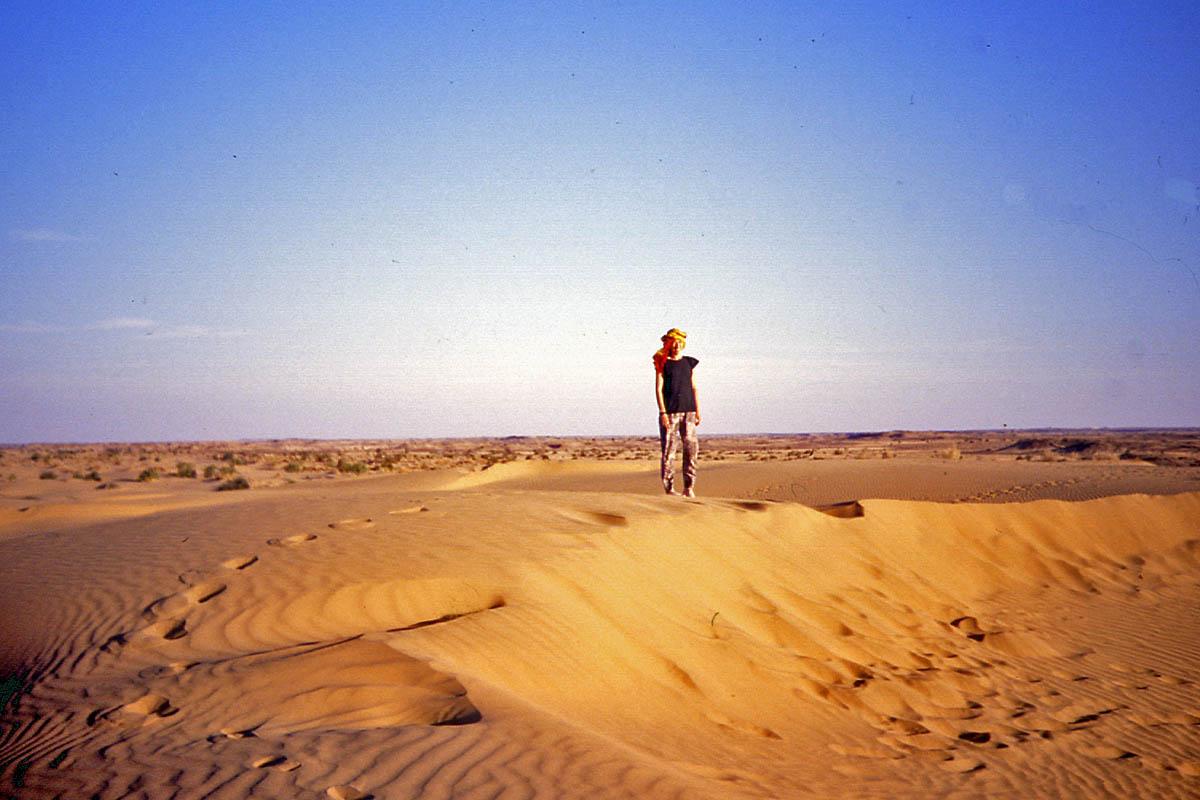 sand dunes thar india
