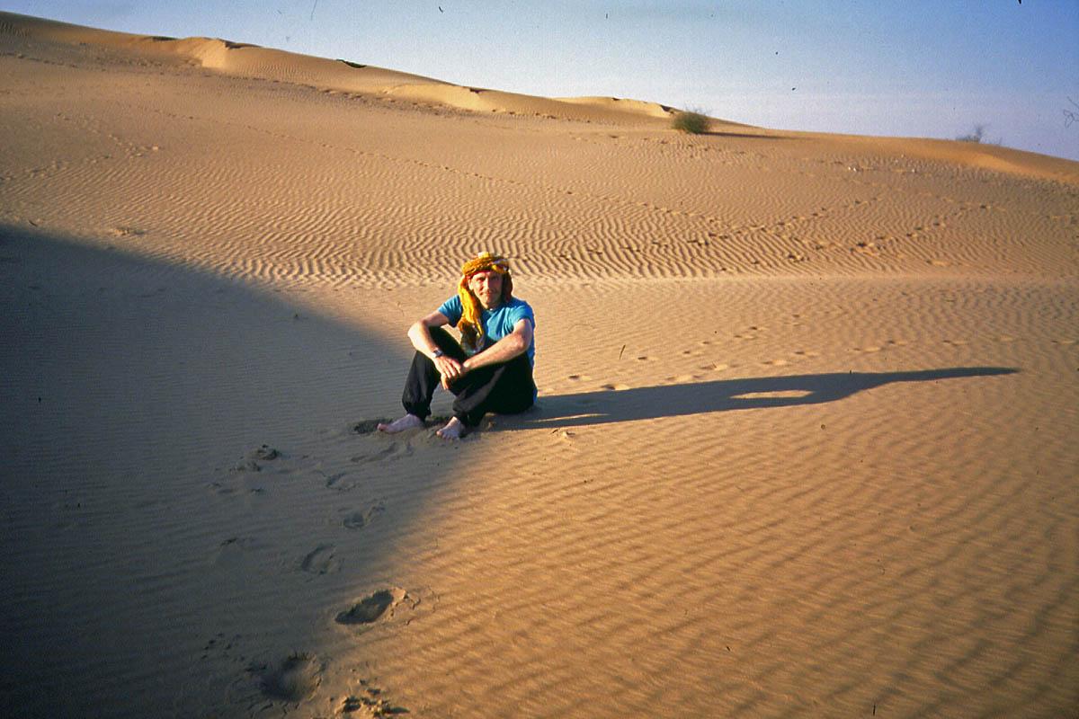 sand dunes desert thar