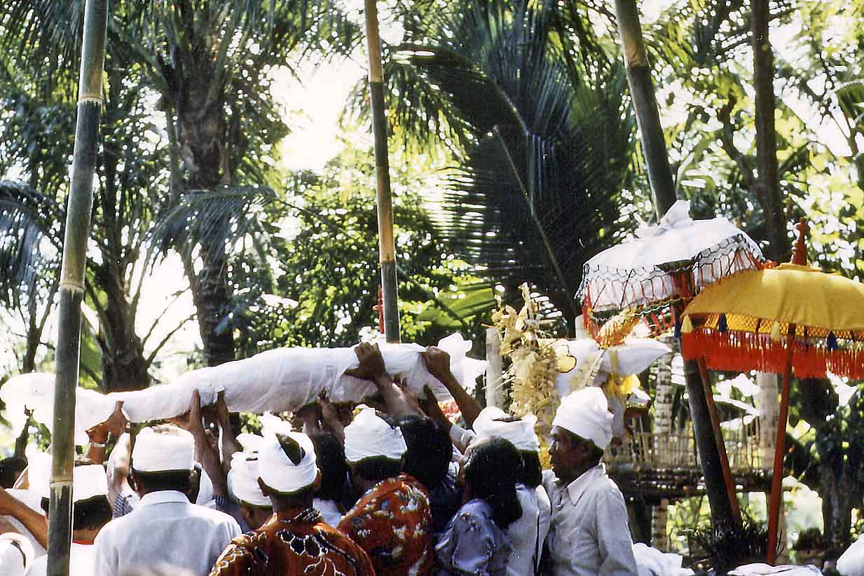 Cremation on Bali