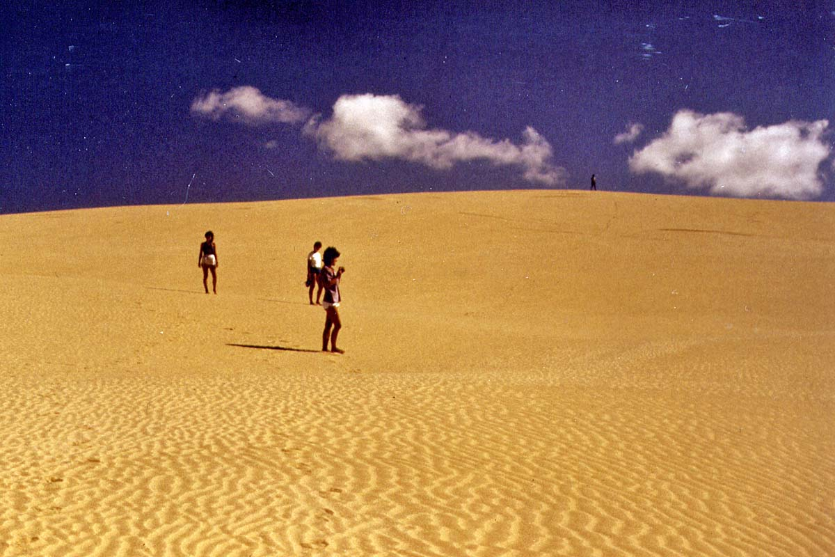 Dunes at Cape Reinga