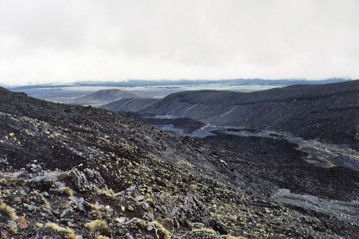 trekking in Tongariro