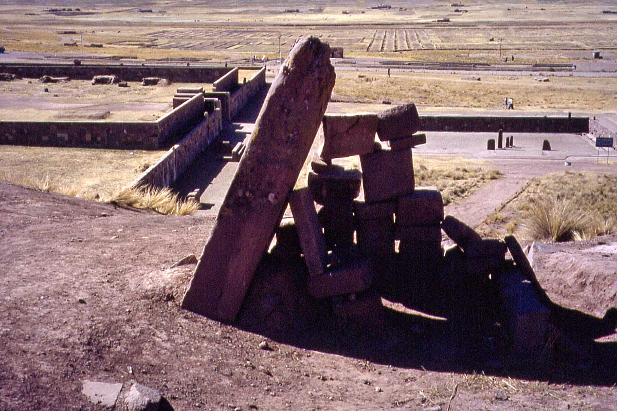 Ruines of Tiwanaku