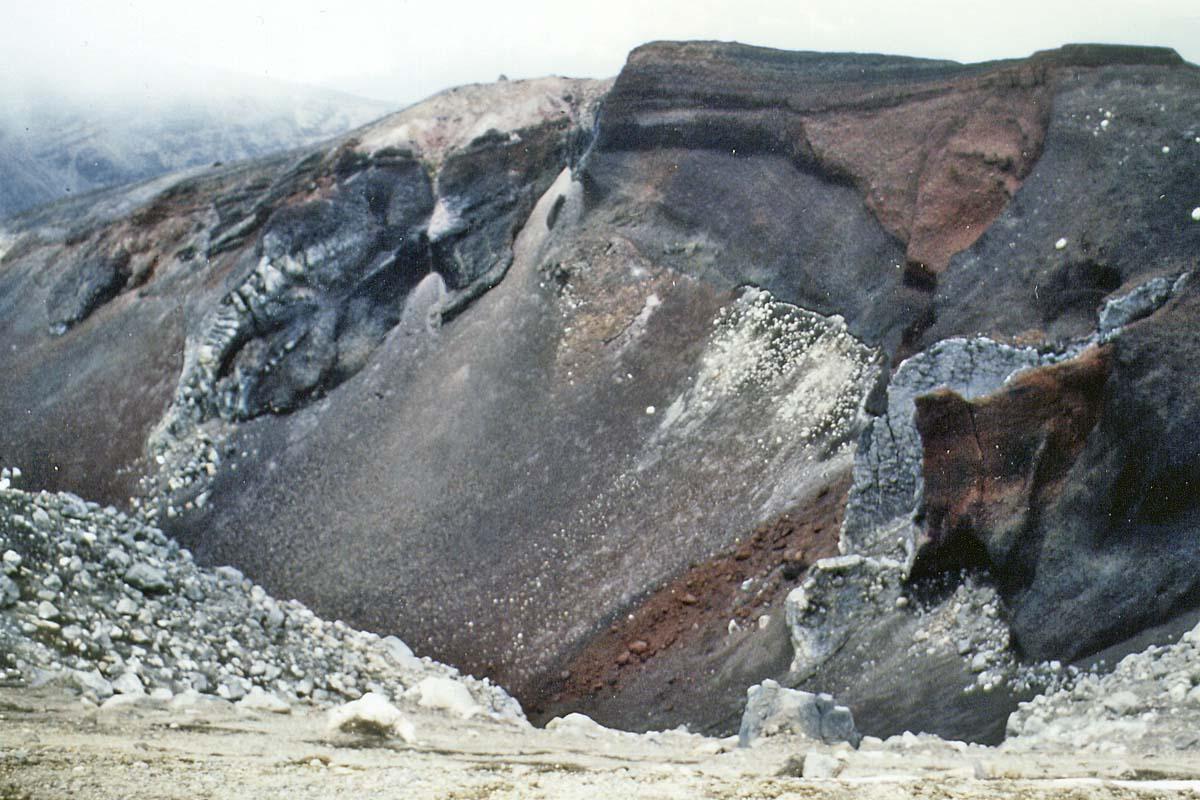 Tongariro crater