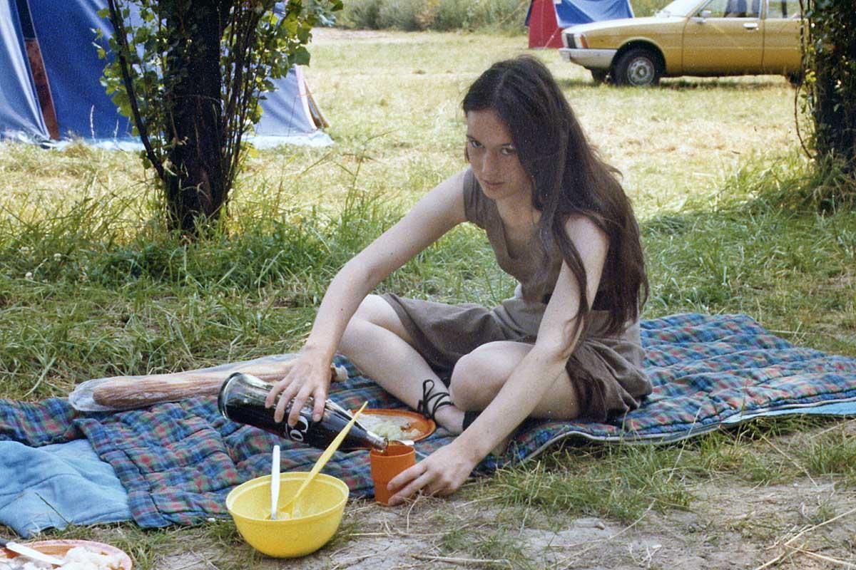 Camping bei Paris 1975