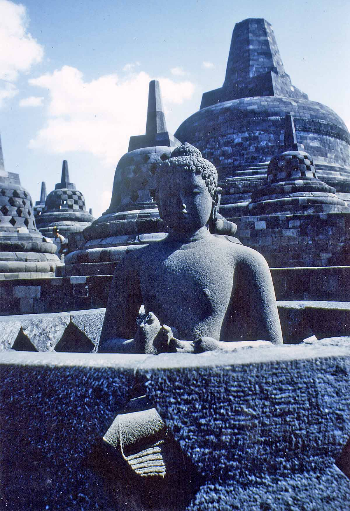 Borobudur temple Java