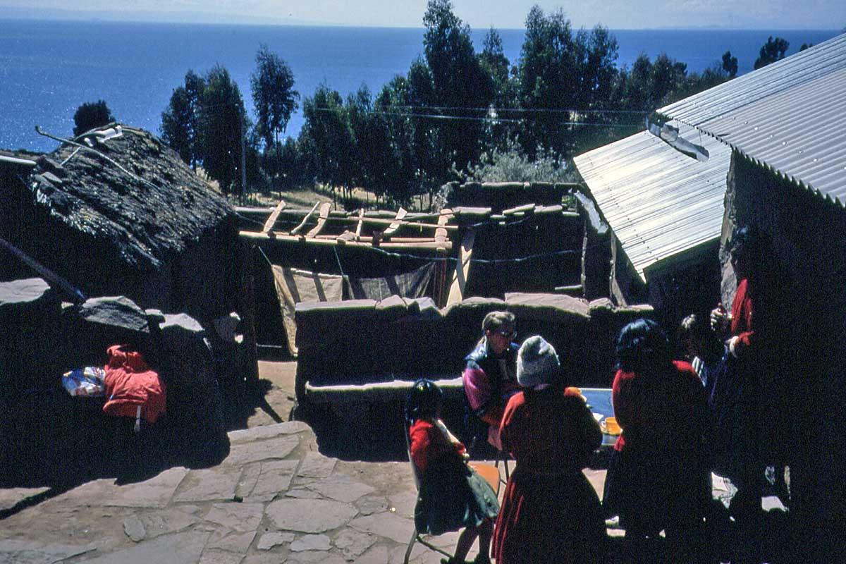 Restaurant on Taquila Island Peru